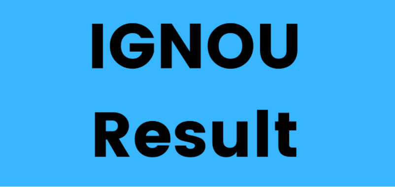 IGNOU MHD Result 2021