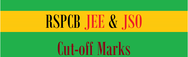 RSPCB JEE, JSO Result 2021